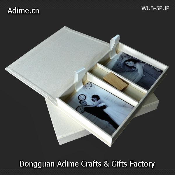 4x6 Photo Box with USB holder