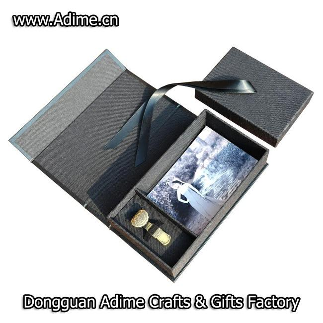 Cloth Photo Box with USB
