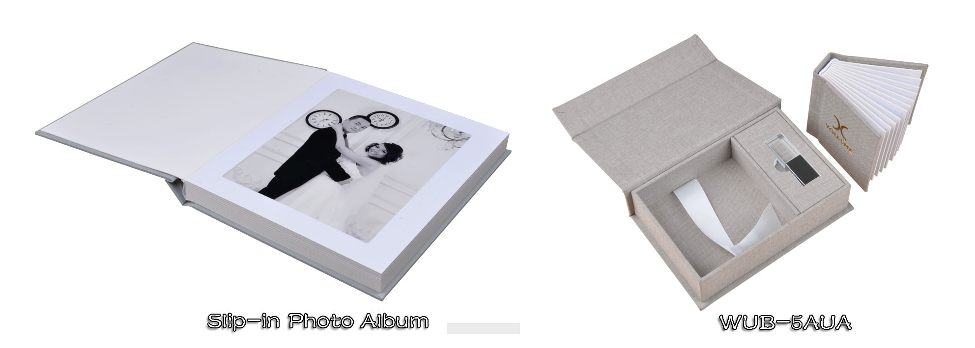 Photo USB Album Box