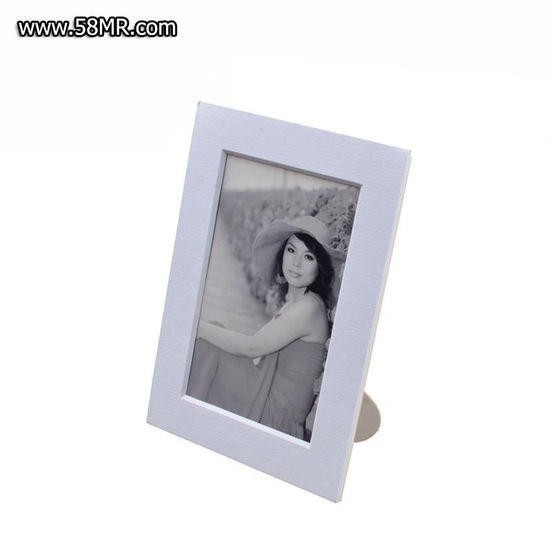 Matted Cardboard Photo Frame