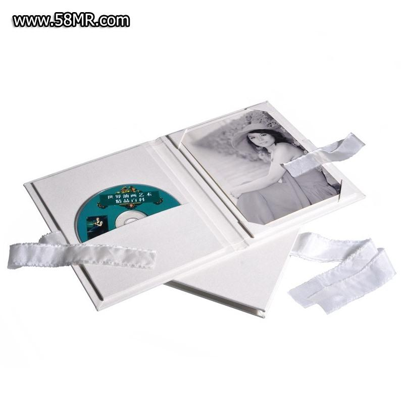Linen DVD Photo Case
